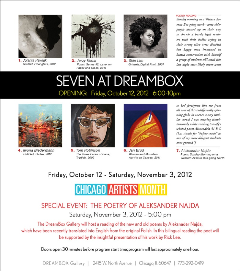 Seven at DreamBox Gallery