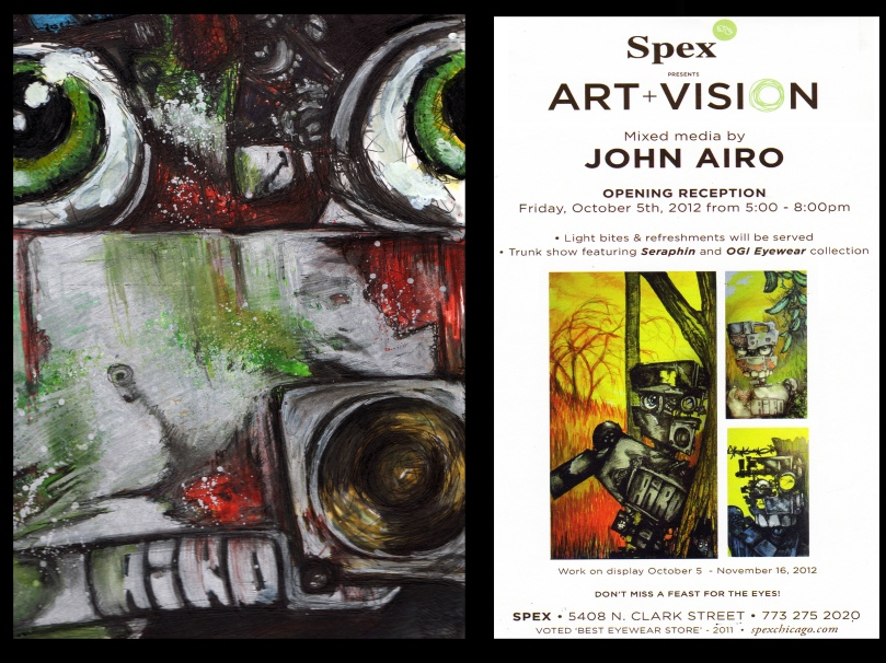 John Airo Opening Reception October 5th