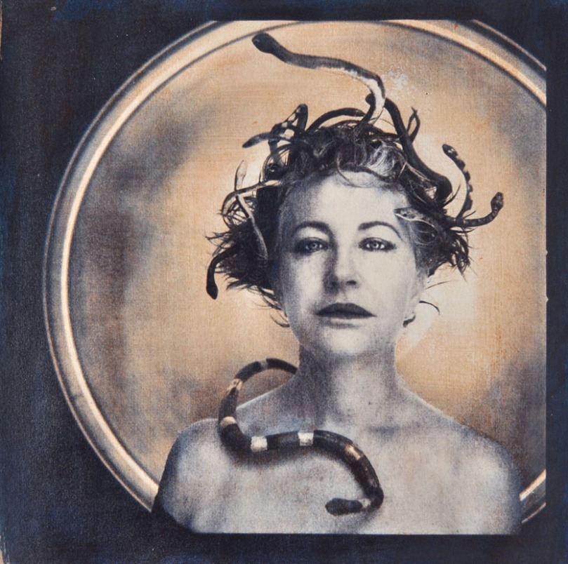van Blerk, _MÇduse, MÇtamorphoses_,  Gomme et cyanotype, 2011, 11.8x11.8in