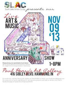 4th anniversary show at Paul Henry's