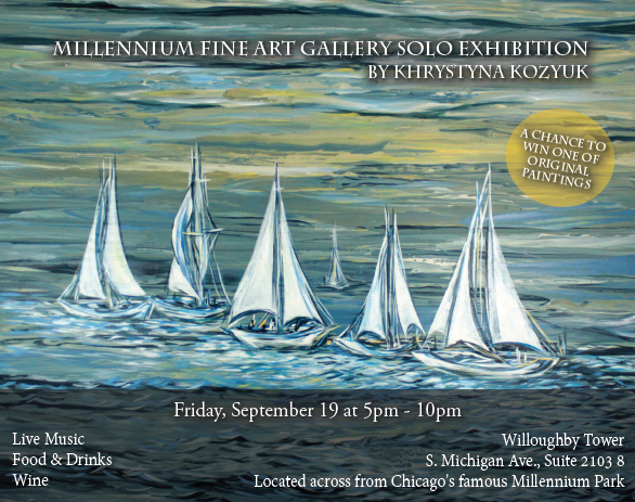 Millennium Fine Art Gallery Solo Exhibition