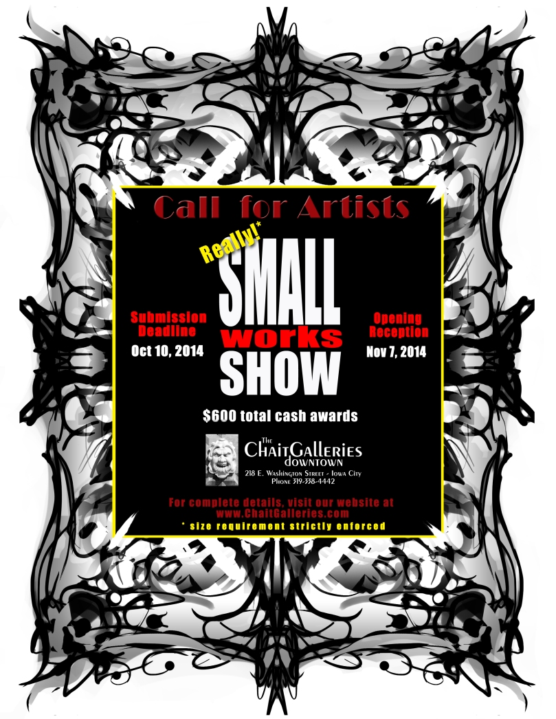 Small Works Flyer  2014_Really
