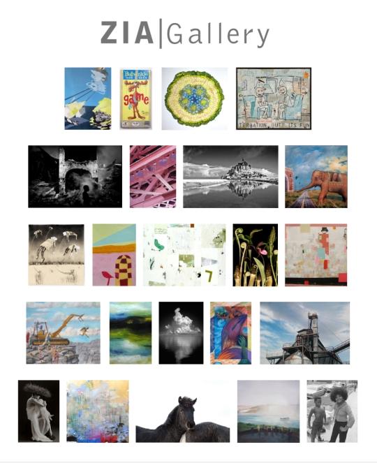 11-2014 Group Exhibition Postcard