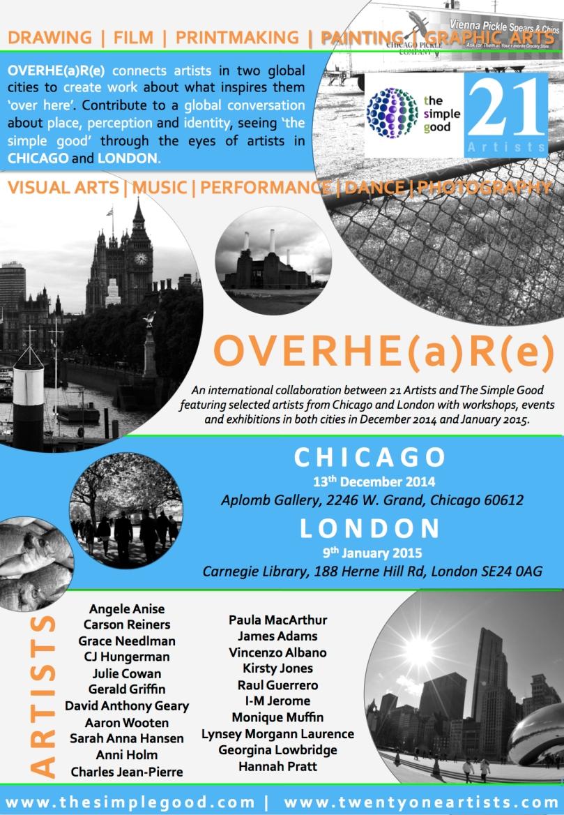 OVERHE(a)R(e) POSTER Exhibition