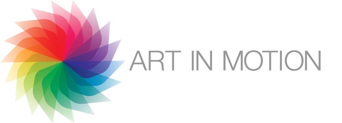 Art in Motion artwork for Facebook invitation