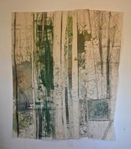 6'x@5' mixed-media on raw canvas/$1300retail