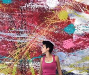 LONDON EYE - mural