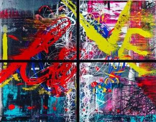 LOVE - acrylic on canvas